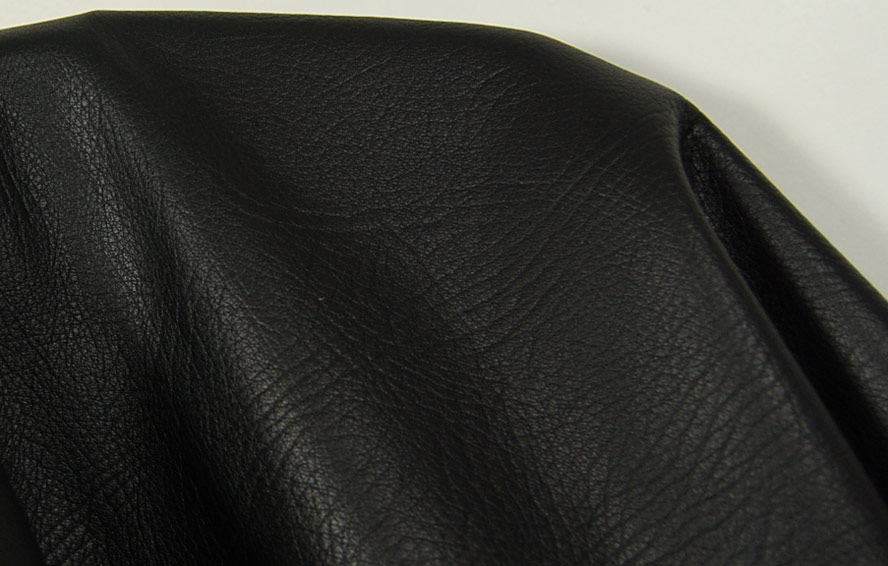 Cowhide nappa black leather scraps leather pieces for Leather sheets for crafting